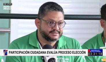 Participación Ciudadana asegura hubo 30 % en compras de votos en primarias