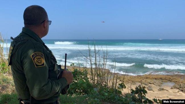 Patrulla fronteriza de EEUU en Puerto Rico detuvo en el año a 1.434 ilegales
