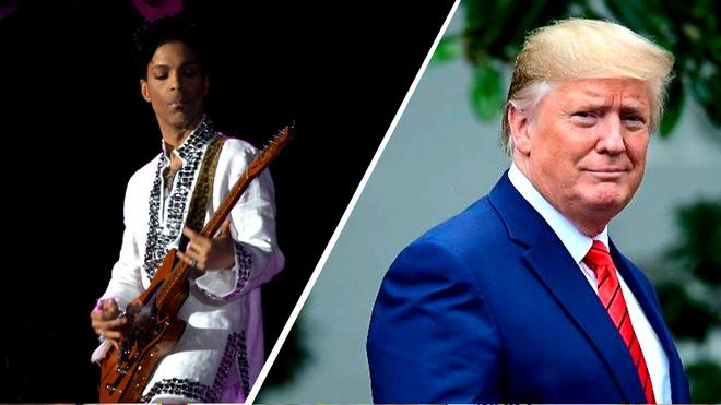 Herederos de Prince se quejan por uso de una canción en la campaña de Trump