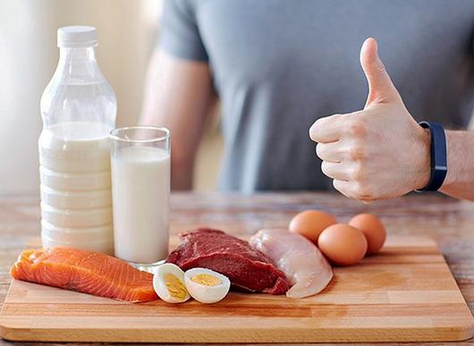 El consumo óptimo de carne, huevos o leche, según el país