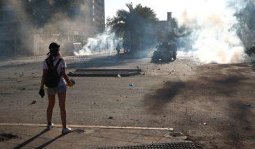 Joven balado durante protestas en Chile queda ciego