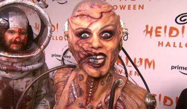 Heidi Klum se pone su disfraz de Halloween más desagradable hasta el momento