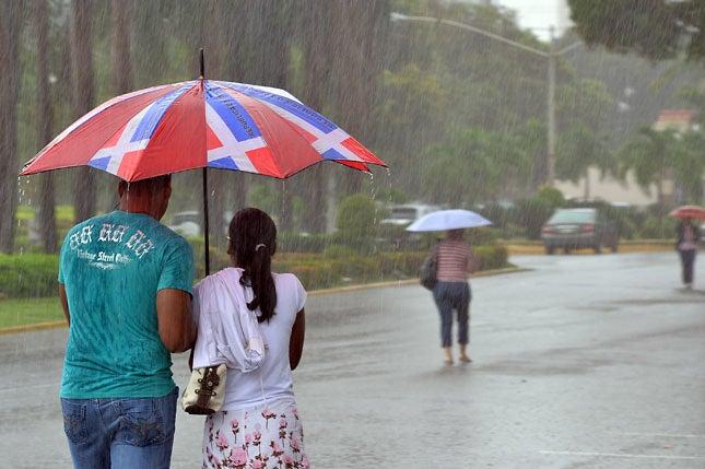 Vaguada y sistema frontal provocarán aguaceros hacia varias provincias