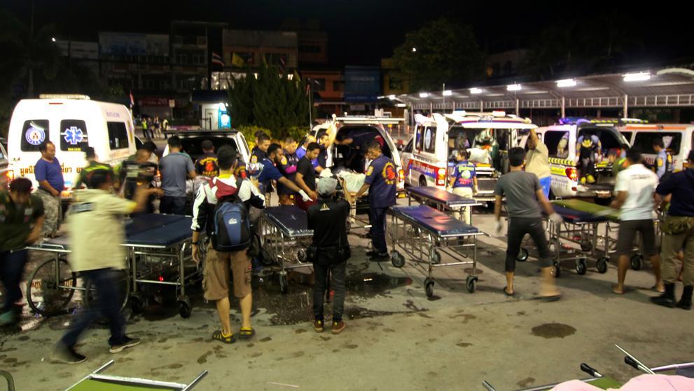 Al menos 14 muertos y varios heridos en un ataque en el sur de Tailandia