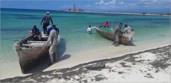 Frustran 4 viajes ilegales e interceptan 3 embarcaciones haitianas