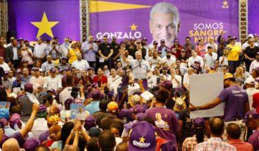 """Gonzalo Castillo: """"Quiero poner mi marca y visión de un Estado, no para un grupo, sino para todos"""