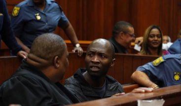 Cadena perpetua a asesino y violador que desató ola de protestas en Sudáfrica