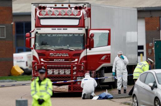 Los 39 muertos encontrados en un camión en Essex eran todos vietnamitas