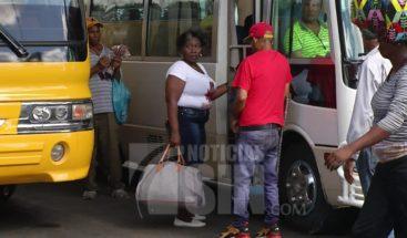Chóferes se quejan por poco flujo de pasajeros en el feriado