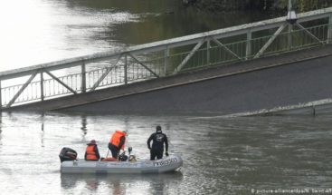Un muerto y varios desaparecidos por el derrumbe de un puente en Francia