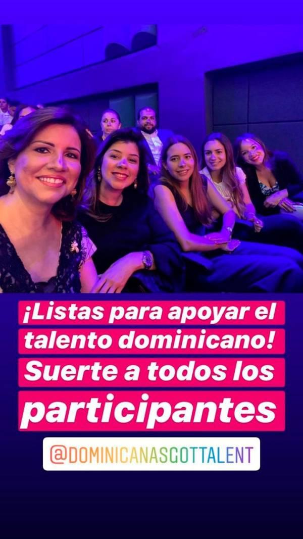 Vicepresidenta dice presente en semifinal de Dominicana's Got Talent
