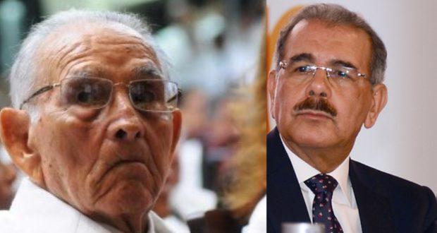 Fallece a los 101 años el padre del presidente Danilo Medina