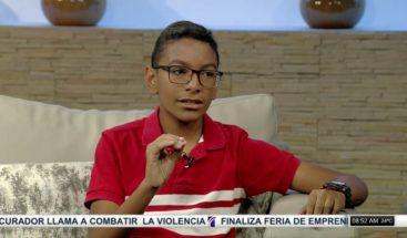 Entrevista a Jorgito Báez, niño prodigio que quiere ser astrónomo