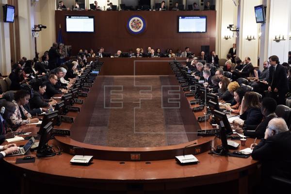 La OEA se reunirá el martes para analizar la situación en Bolivia