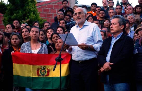 Bolivia vive un día de espera tras el ultimátum de un líder cívico a Morales