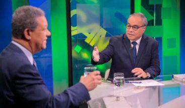 Leonel insiste: Gonzalo es ilegítimo y hubo fraude en primarias