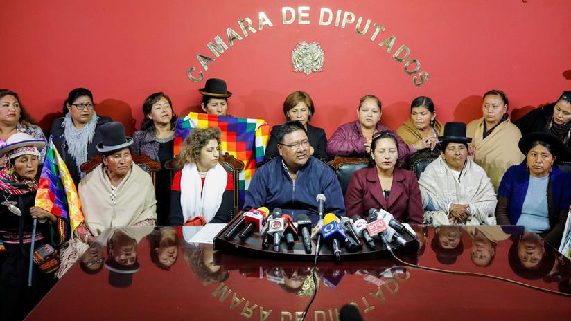 Legisladores en Bolivia se declaran en huelga de hambre en apoyo a Evo Morales