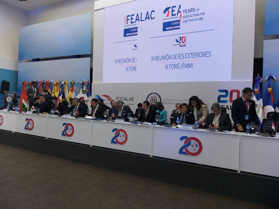 Inicia IX reunión de Ministros de Relaciones Exteriores de América Latina y Asia del Este