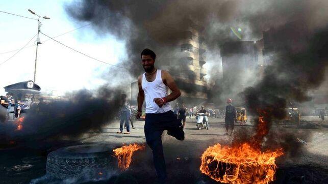 Más muertos y bloqueo de internet para aplacar las protestas en Irak