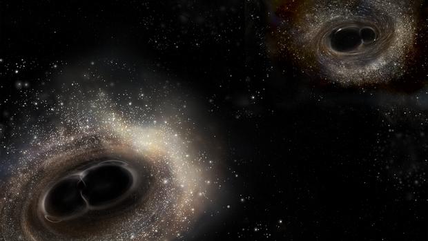 Estudian las frecuencias de ondas gravitatorias para observar agujeros negros
