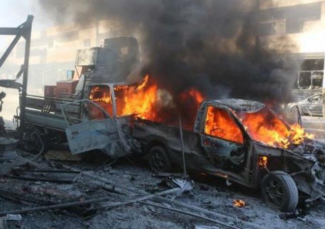 Al menos 17 muertos en el norte de Siria por un atentado con coche bomba