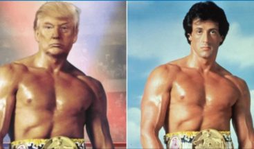 Trump sorprende en las redes con un montaje de Rocky