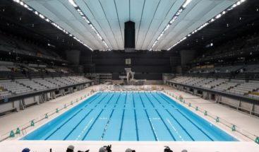 Tokio muestra sus casi terminadas sedes acuática y de voleibol de los Juegos Olímpicos
