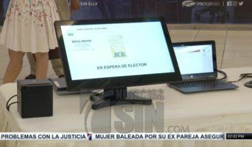 JCE y partidos deciden si usarán voto automatizado en los comicios municipales