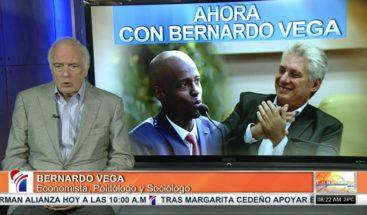 """Bernardo: La situación política RD que palidece ante lo que pasan países tan cercanos como Haití""""."""