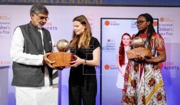 Greta Thunberg y activista camerunesa reciben Premio Internacional de Paz Infantil