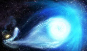 Un agujero negro expulsa a una estrella superrápida de la Vía Láctea