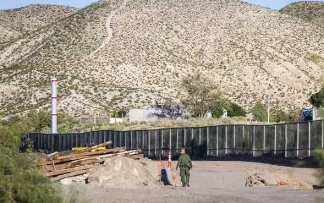 Piden a la Justicia de EE.UU. que bloquee 3.600 millones del muro fronterizo