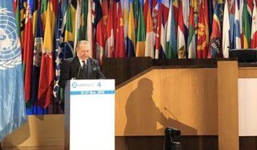El ministro de Cultura expone en la UNESCO sobre las políticas culturales que ejecuta RD
