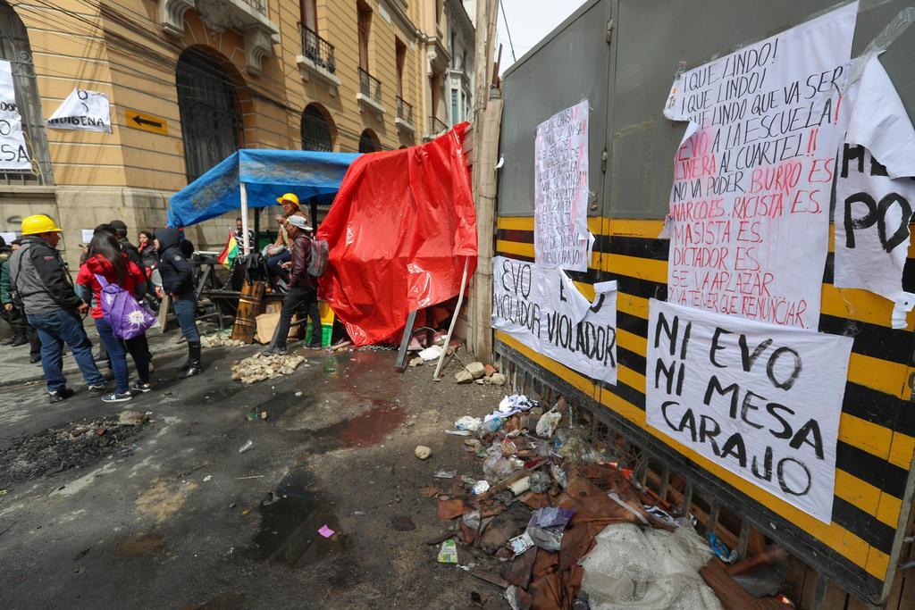 Suben a siete los muertos en las protestas en Bolivia que ya cumplen 23 días