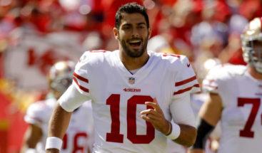 NFL: Jimmy Garoppolo billa intensamente en triunfo de 49ERS sobre Cardinals