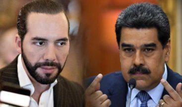 Nayib Bukele pide respeto a Nicolás Maduro por llamarle