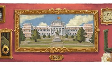 El Museo del Prado cumple 200 años y Google lo celebra con un doodle