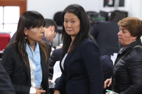 Jueza envía orden para excarcelar a la opositora peruana Keiko Fujimori
