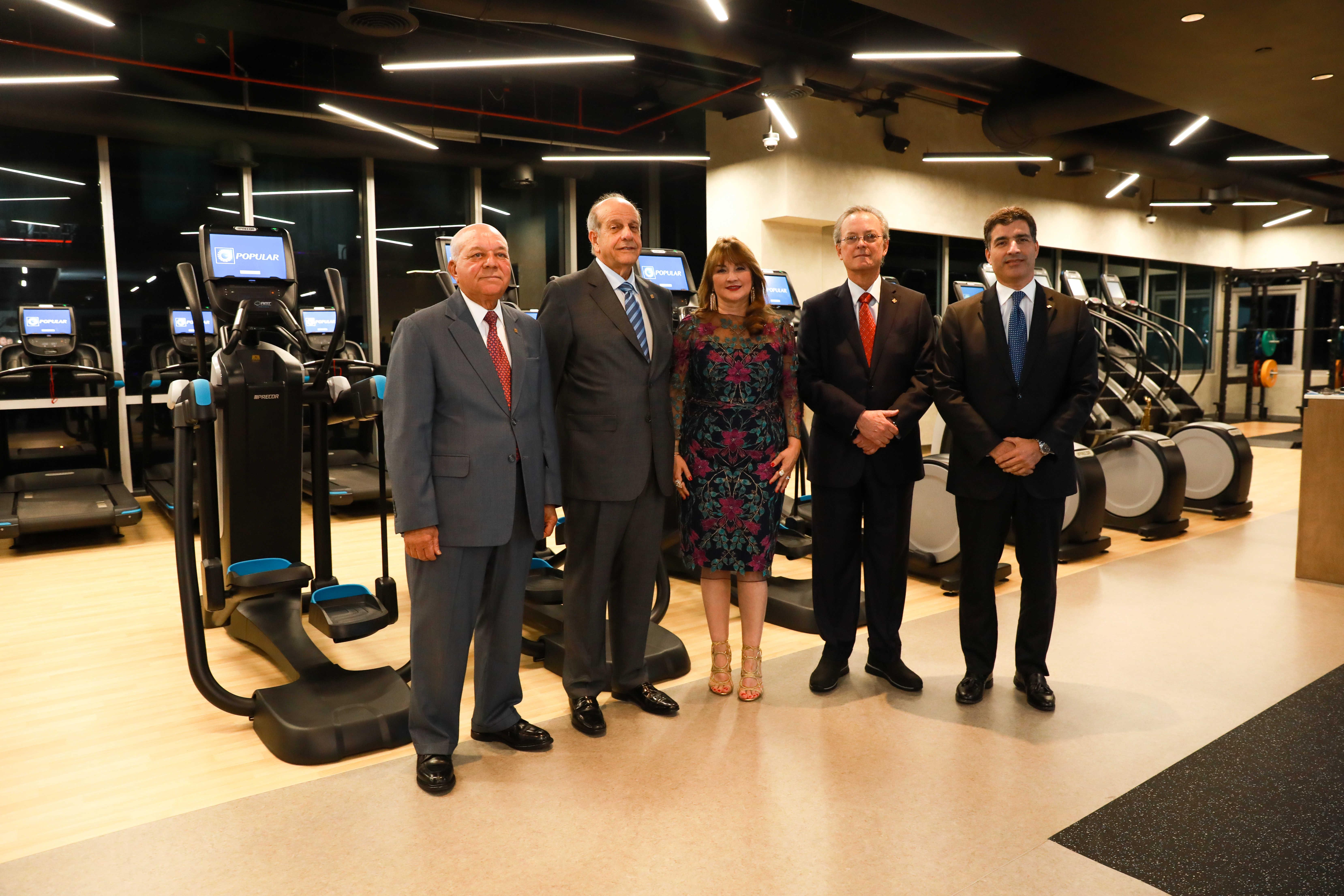 Banco Popular inaugura primer centro de bienestar para empleados