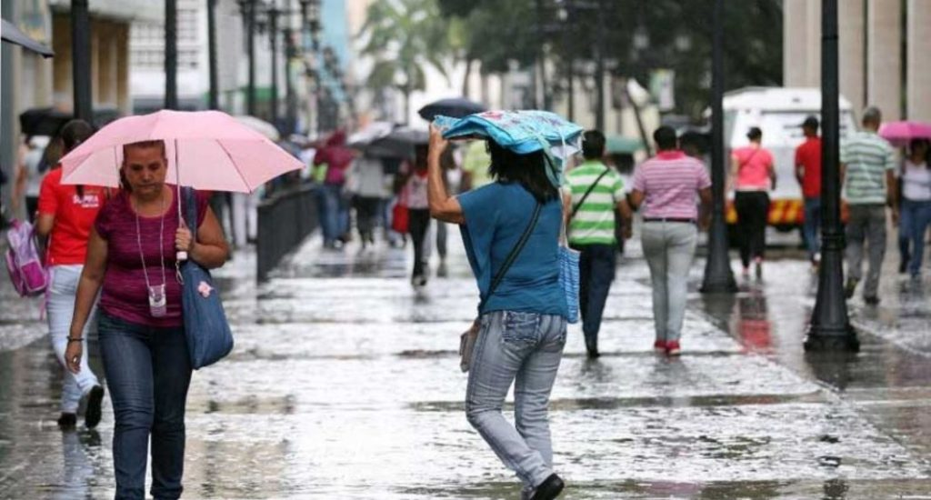 Onamet pronostica aguaceros por incidencia de vaguada