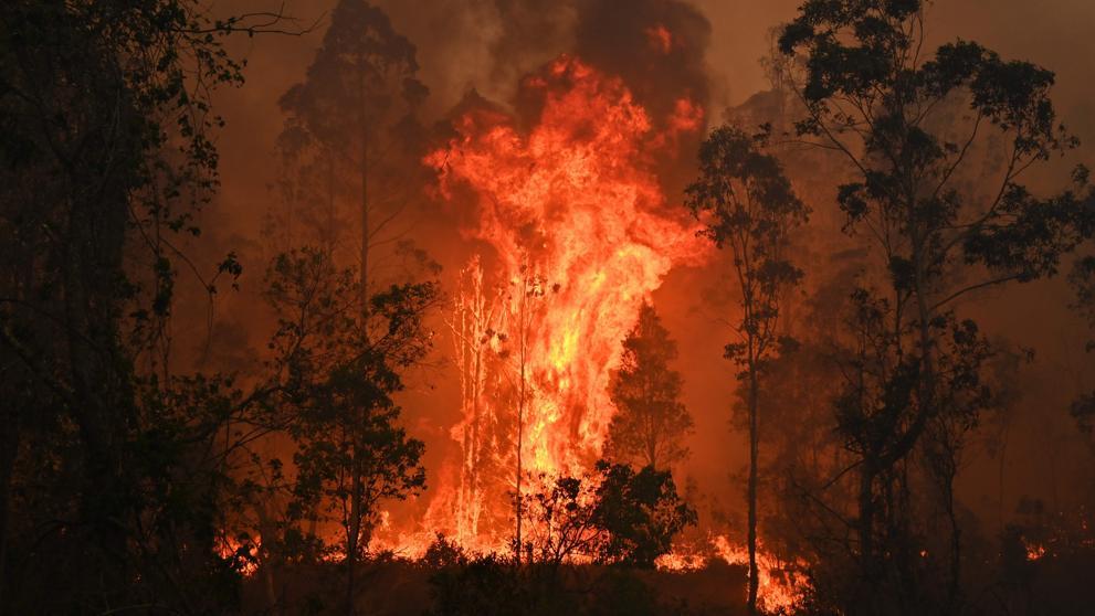 Tres muertos y cinco desaparecidos por los incendios forestales en Australia