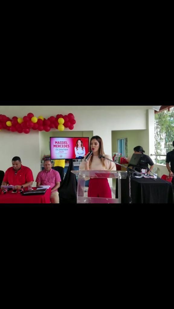 Massiel Mercedes lanza campaña como candidata a diputada por el PRSC