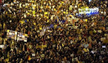 Miles de personas en el inicio de la Marcha por el Clima con Greta Thunberg