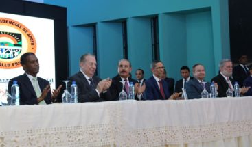 Presidente Medina inaugura remodelada planta física de CERTV