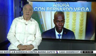 Bernardo Vega: Crisis política y económica haitiana