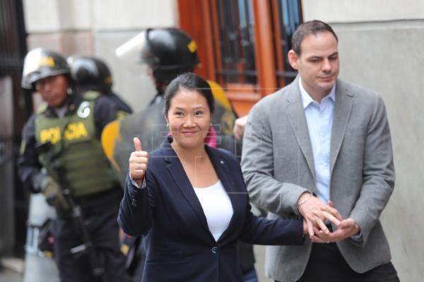 La liberación de Keiko Fujimori es rechazada por la mayoría de peruanos