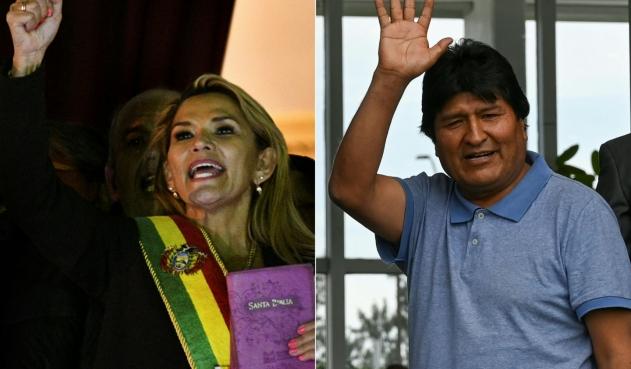 Evo critica a Áñez en Argentina, cuyo Gobierno le pidió no hablar de política