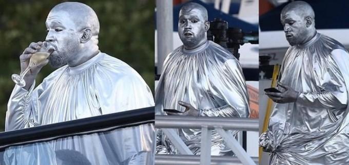 Kanye West cerró las exhibiciones musicales de Art Basel con su ópera Mary