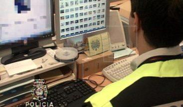 Golpe a pornografía infantil en once países, con 33 detenidos, 17 en España