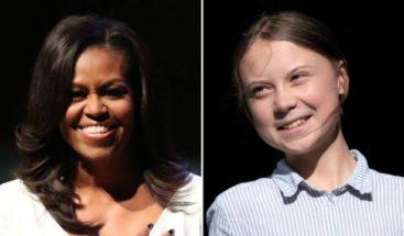 Michelle Obama se solidariza con Greta Thunberg después de ataque de Trump